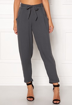 New Look Jasmine Tie Waist Charcoal Bubbleroom.fi