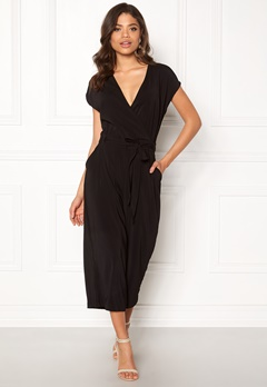 New Look Leonie Culotte Jumpsuit Black Bubbleroom.no