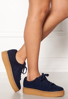 New Look Makky Creeper Trainer Navy Bubbleroom.no