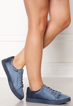New Look Matin Satin Lace Up Blue Bubbleroom.se