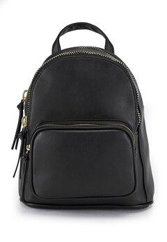 New Look Mini Chunky Zip Bag Black Bubbleroom.fi