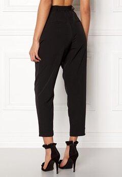 New Look New Tie Waist Trousers Black Bubbleroom.fi