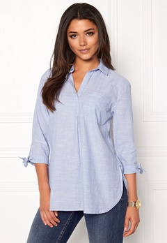 New Look Overhead Shirt Blue Bubbleroom.se