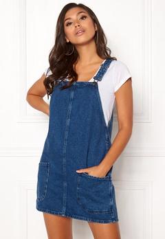 New Look Paula Pinny Dress Blue Bubbleroom.se