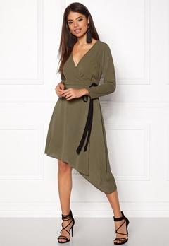 New Look Plain Wrap Midi Dress 12,25 Bubbleroom.se