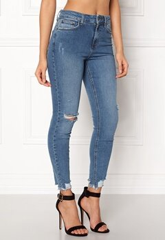New Look Rise Skinny Sage Jeans Blue Bubbleroom.se