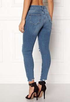 New Look Rise Skinny Sage Jeans Blue Bubbleroom.no