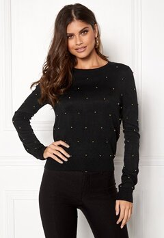 New Look Scatter Bead Jumper Black Bubbleroom.se