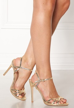 New Look Scope PU Strappy Sandal Gold Bubbleroom.se
