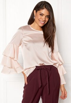 New Look Triple sleeve Blouse Shell Pink Bubbleroom.se