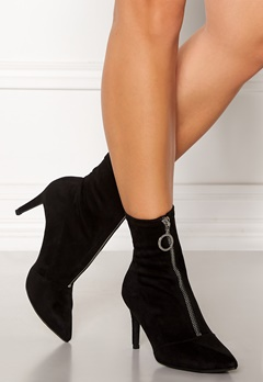 New Look Zip Ankle Boots Black Bubbleroom.se
