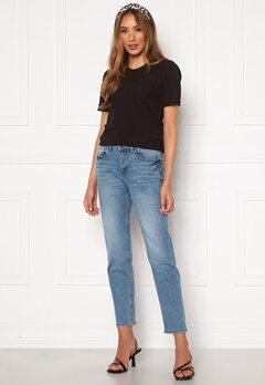 Jacqueline de Yong Newtyson Girlfriend Jeans Light Blue Denim Bubbleroom.se
