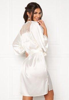 Nicole Falciani X Bubbleroom Nicole Falciani Bride Robe White Bubbleroom.se