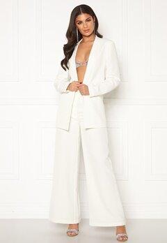 Nicole Falciani X Bubbleroom Nicole Falciani Suit Pants White Bubbleroom.se