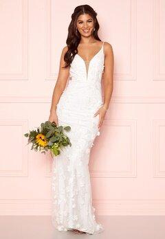 Nicole Falciani X Bubbleroom Nicole Falciani Wedding Gown White Bubbleroom.se