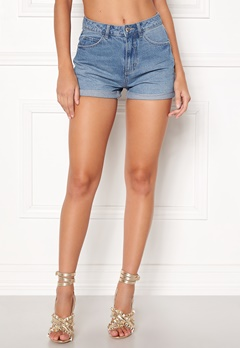 VERO MODA Nineteen HW Loose Shorts Light Blue Denim Bubbleroom.se