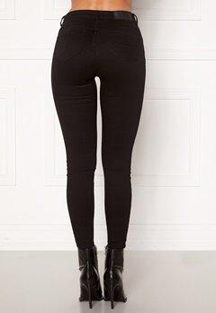 Noisy May Jen NW S.S Shaper Jeans Black Bubbleroom.se