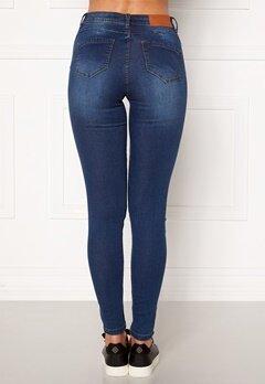 Noisy May Jen NW S.S Shaper Jeans Medium Blue Denim Bubbleroom.se