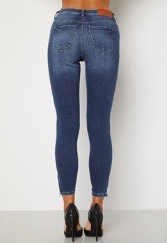 Noisy May Kimmy Ankel Dart Jeans Medium Blue Denim Bubbleroom.se
