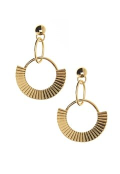 NORR by Erbs Nila Earrings Gold Bubbleroom.se