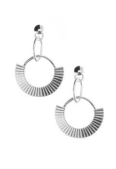 NORR by Erbs Nila Earrings Silver Bubbleroom.fi