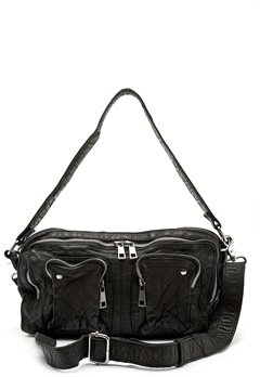 Nunoo Alimakka Washed Bag Black Bubbleroom.se