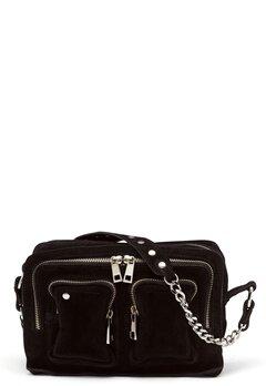 Nunoo Ellie Chain Suede Bag Black Bubbleroom.se