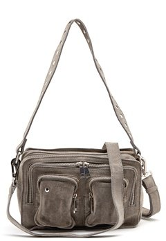 Nunoo Ellie New Suede Bag Grey Bubbleroom.se