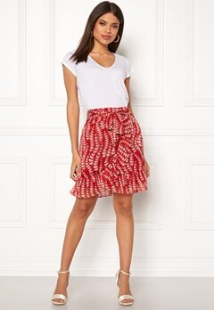 co'couture Oat Skirt Rio Red Bubbleroom.se
