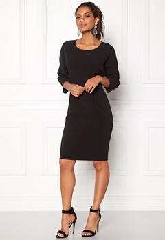 OBJECT Abella 3/4 Dress Black Bubbleroom.dk
