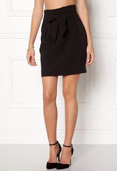 OBJECT Abella MW Mini Skirt Black Bubbleroom.dk