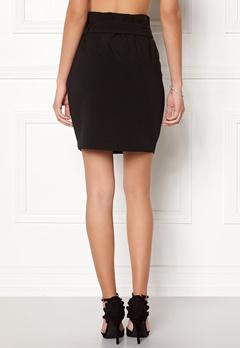 OBJECT Abella MW Mini Skirt Black Bubbleroom.fi