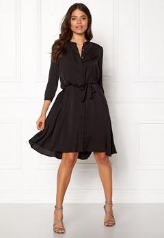 OBJECT Adrianne 3/4 Dress Black Bubbleroom.dk