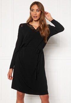 OBJECT Bea New L/S Dress PB8 Black Bubbleroom.se