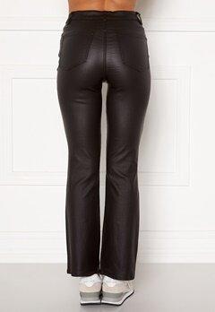 Object Collectors Item Belle 7/8 Coated Flared Pant Black Bubbleroom.se
