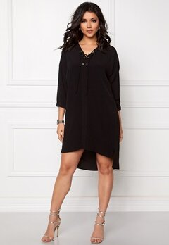 OBJECT Betty Lou 3/4 Dress Black Bubbleroom.se