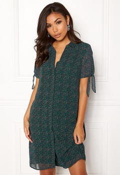 OBJECT Casey S/S Shirt Dress Pine Grove Bubbleroom.se