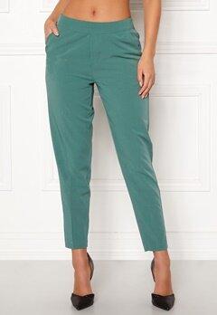 OBJECT Cecilie MW 7/8 Pants Blue Spruce Bubbleroom.se