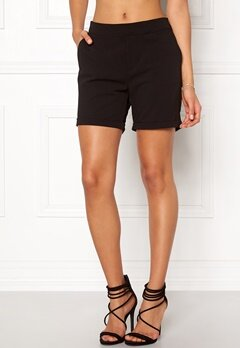 OBJECT Cecilie Shorts Black Bubbleroom.se
