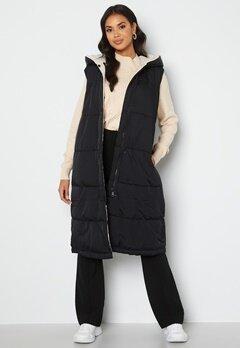 Object Collectors Item Aria S/L Hoodie Vest Black/Sandshel bubbleroom.se