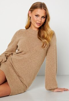 Object Collectors Item Eve Nonsia Knit Dress Incense melange Bubbleroom.se