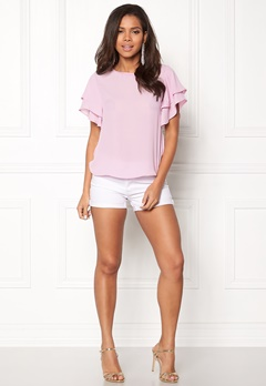 OBJECT Crystal S/S Top Pink Nectar Bubbleroom.se