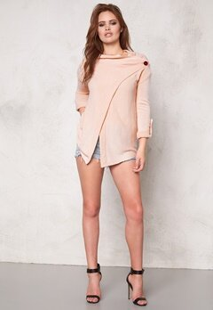 OBJECT Deanna Knit Cardigan Pink Champagne Bubbleroom.se