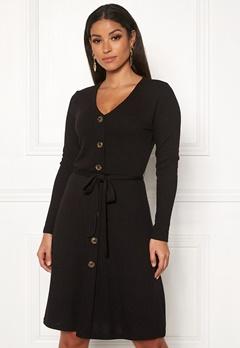 OBJECT Debra L/S Dress Black Bubbleroom.se
