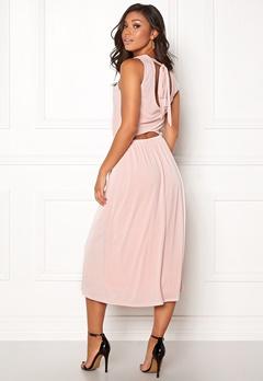 OBJECT Dede S/L Long Dress Hushed Violet Bubbleroom.se