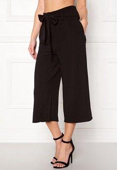 OBJECT Delta hw Coulotte Pants Black Bubbleroom.dk