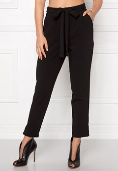OBJECT Delta HW Pants Black Bubbleroom.fi