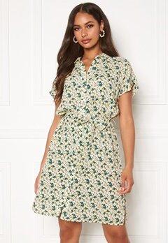 OBJECT Ebbie S/S Shirt Dress Sky Captain multi co Bubbleroom.se