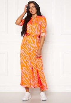 OBJECT Elonora L/S Long Dress Zinnia Bubbleroom.se