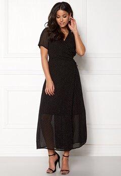 OBJECT Gamilla S/S Long Dress Shady Glade Bubbleroom.se